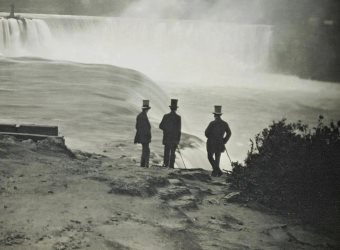 Niagara Falls from the American side early photography art
